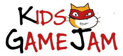 logo kids game jam